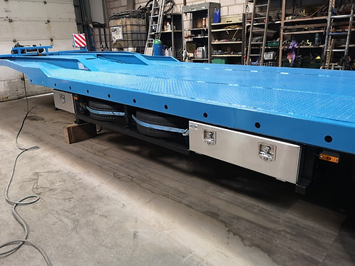 Low Loader Aluminium Truck Toolboxes, Trailer Toolbox, Underbody Toolbox