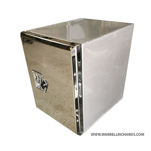 W395XD500XH600 Stainless, Mirrored lid truck toolbox Chassis box DAF XF 106
