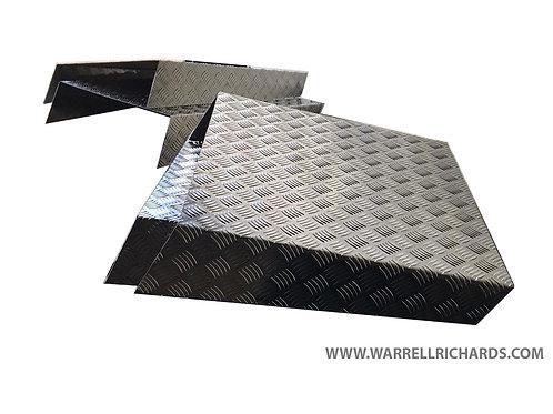 X2 500X650 X2 600X650 Aluminium chequer,  Mudguards / Spratz, Tipper