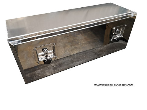 W1000XD300XH300 Stainless, Mirrored lid toolbox Iveco Euro Cargo / Mercedes