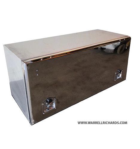W1200XD500XD500 Matt Stainless,Mirrored lid truck tool box, Volvo FM460