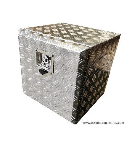 W500XD500XH500 Aluminium chequer plate tool box, Truck box, Recovery, strap box