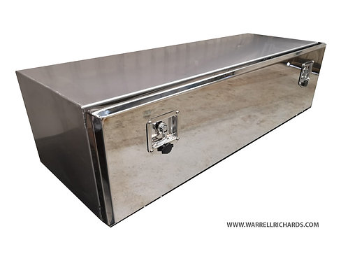 W1300XD500XH350 LowLoader Stainless Truck Toolbox, DAF Volvo Scania Mercedes ect