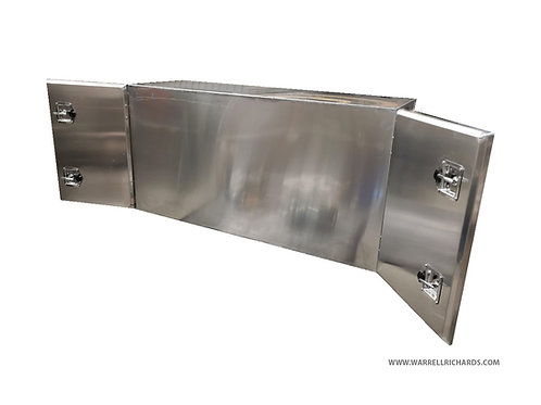 W1800XD400XH1200 Aluminium truck toolbox, Landrover Pickup 4x4 rear cab back box