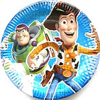 Toy Story party supplies | Toy Story party plates round
