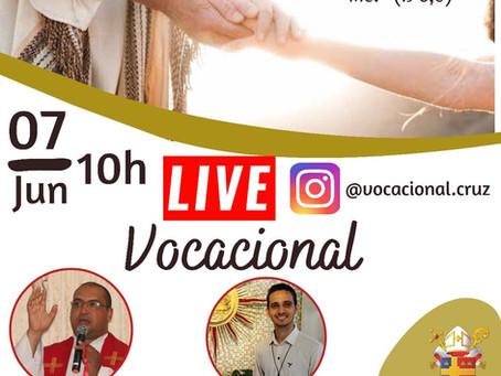 Pastoral realiza live sobre vocação