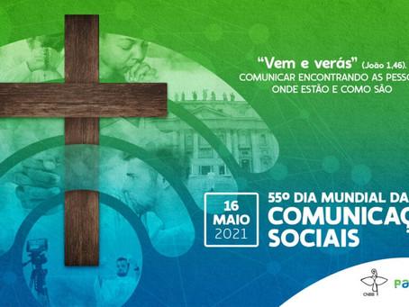DIVULGADA IDENTIDADE VISUAL PARA O 55º DIA MUNDIAL DAS COMUNICAÇÕES SOCIAIS