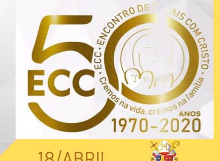 Diocese participa de Jornada de Oração pelos 50 anos do ECC no Brasil