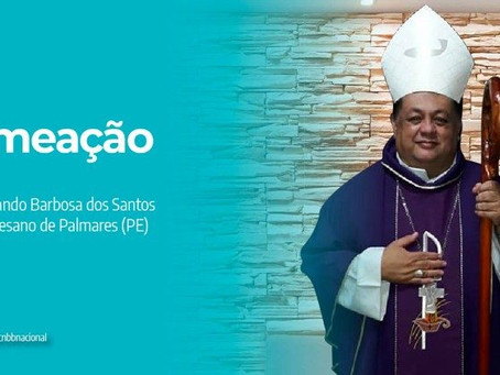 PAPA FRANCISCO NOMEIA DOM FERNANDO BARBOSA COMO BISPO PARA A VACANTE DIOCESE DE PALMARES (PE)