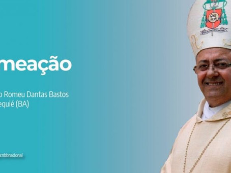 PAPA FRANCISCO NOMEIA NOVO BISPO PARA A DIOCESE DE JEQUIÉ (BA)