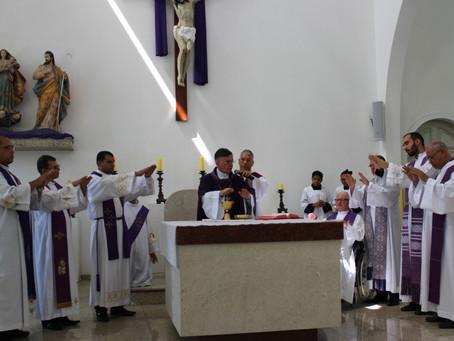 Dom Tourinho inaugura Cúria e anuncia nomes do governo diocesano
