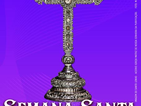 Programação da Semana Santa na Paróquia Nossa Senhora da Purificação, em Santo Amaro.