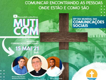Mutirão Diocesano de Comunicação acontece neste sábado (15)