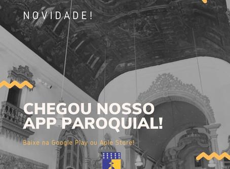 Paróquia Nossa Senhora do Rosário lança aplicativo