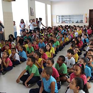 Bispo visita Escolas Católicas em Cachoeira
