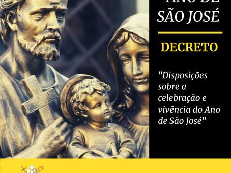 Diocese de Cruz das Almas publica decreto sobre Ano de São José