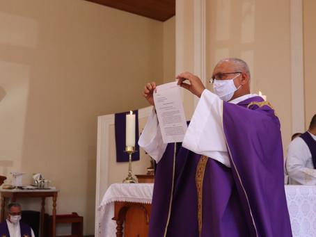 Pe. Antonio Rebouças é empossado como novo Pároco da Paróquia São João Batista