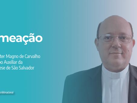Santo Padre nomeia Pe. Valter Magno de Carvalho como bispo auxiliar da Arquidiocese de São Salvador