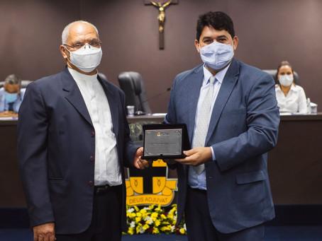 Padres são homenageados pela Câmara de Vereadores de Cruz das Almas