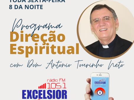 Dom  Antonio Tourinho estreia Programa Direção Espiritual na Rádio Excelsior Recôncavo