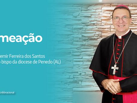 Dom Vademir Ferreira dos Santos é nomeado novo Bispo da Diocese de Penedo (AL)