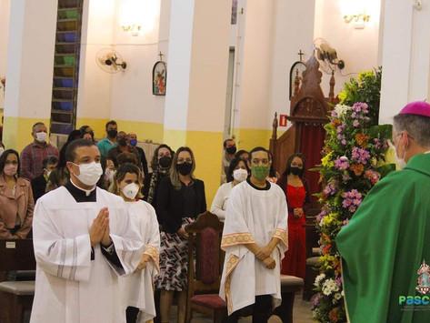 Seminarista Luiz Henrique é admitido às Ordens Sacras