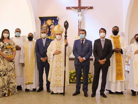 Dom Antonio Tourinho preside Missa em Ação de Graças pelo aniversário de Cruz das Almas