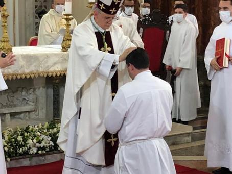 Dom Antonio Tourinho volta a Recife após quase quatro anos, para ordenação diaconal