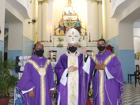 Paróquia Senhor Deus Menino acolhe novo Pároco e Vigário Paroquial