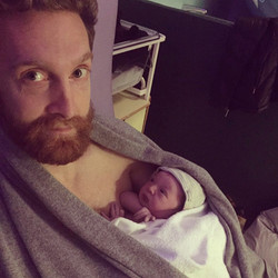 Alex & baby Noa