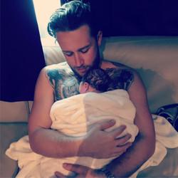 Nick & baby Grey