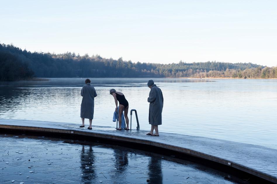 Winter bathing, Silkeborg