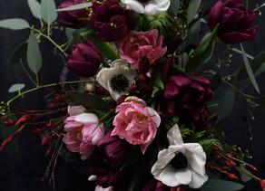 Floral image created for Søstrene Grene Café