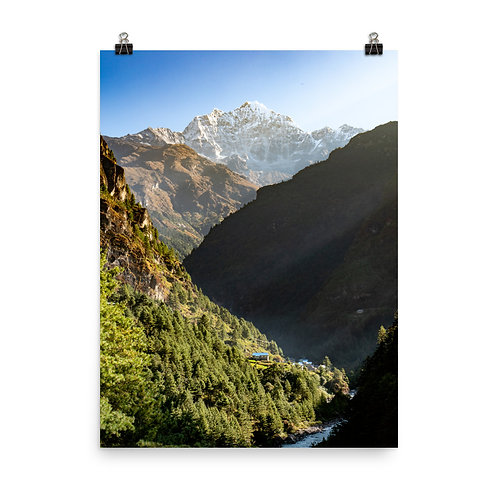 Poster- Nepal Valley