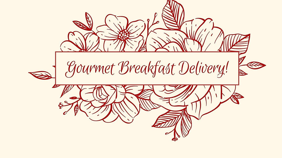 VALENTINE'S BREAKFAST IN A BOX