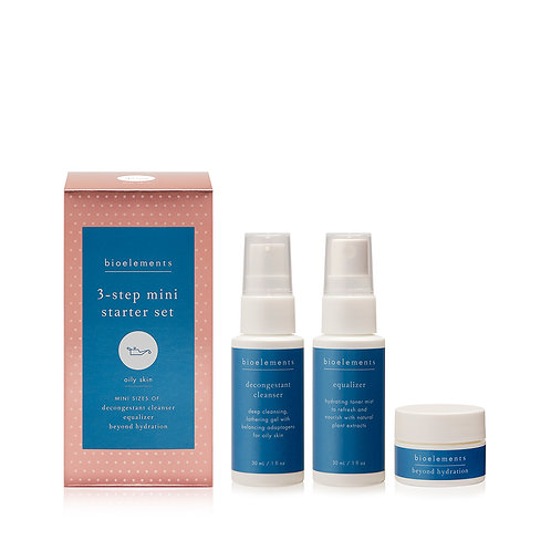 Oily skin travel kit