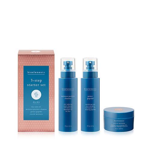 3 StepDry skin starter kit