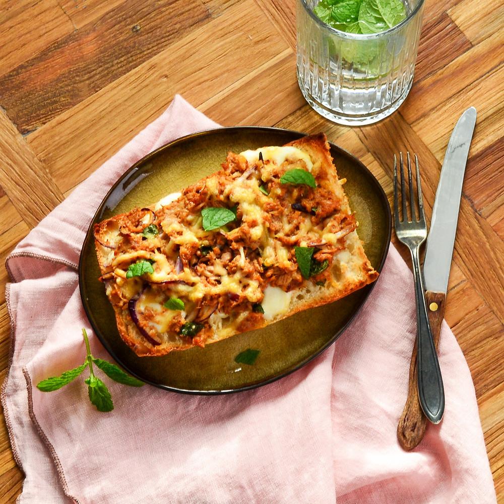 Recept voor een broodje pittige tonijn