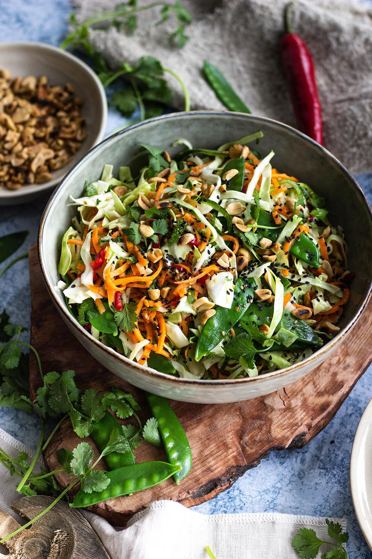 Vegetarische Vietnamese salade