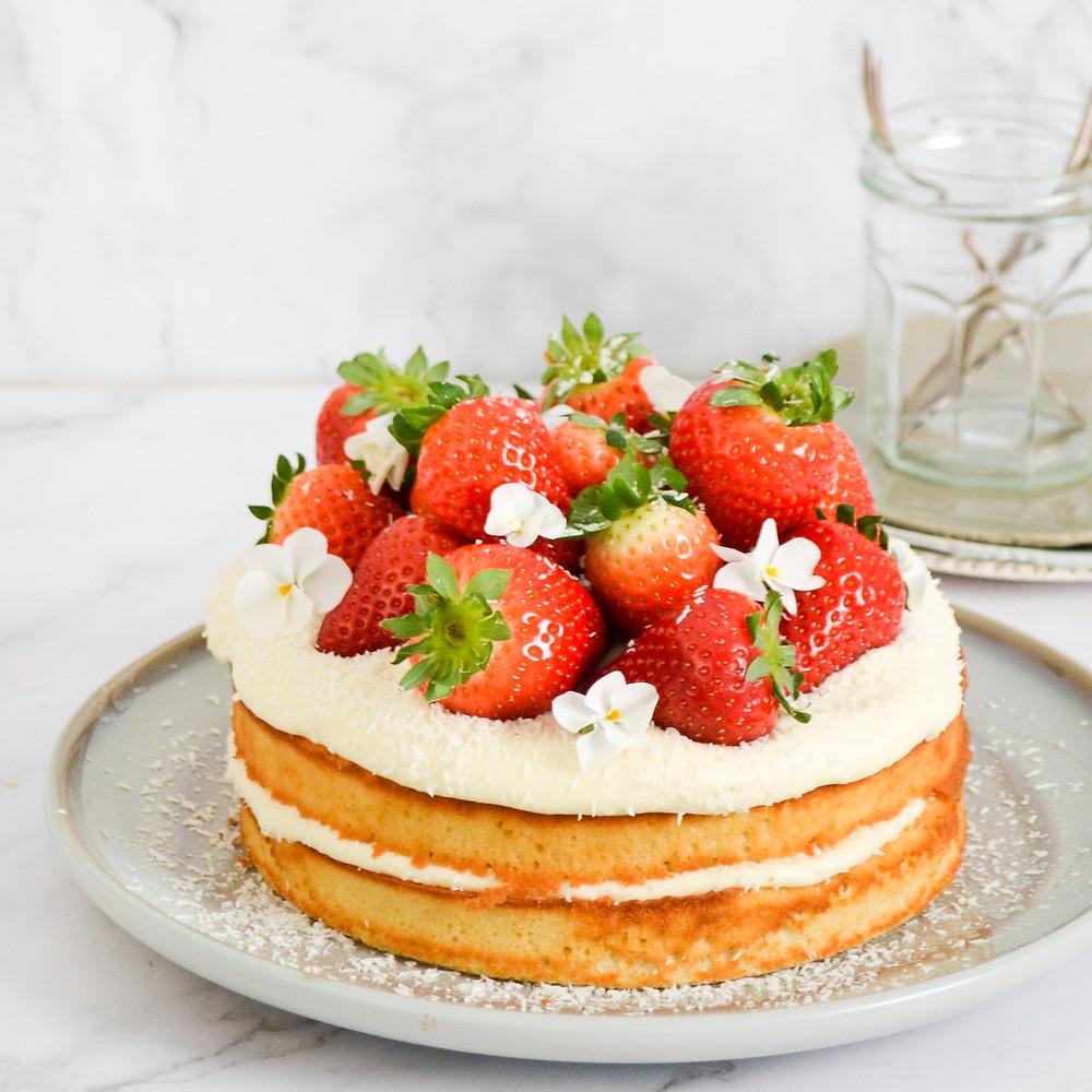 Recept limoncello cake