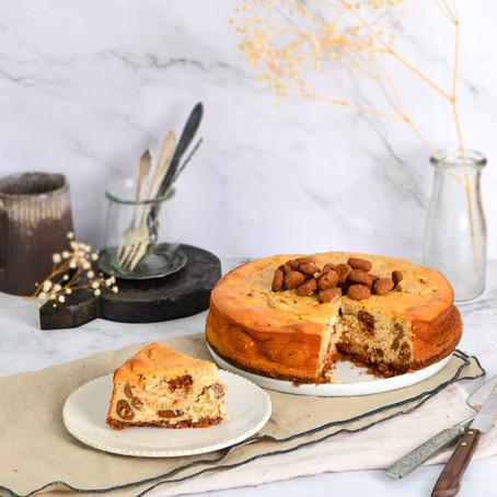 Cheesecake met kruidnoten