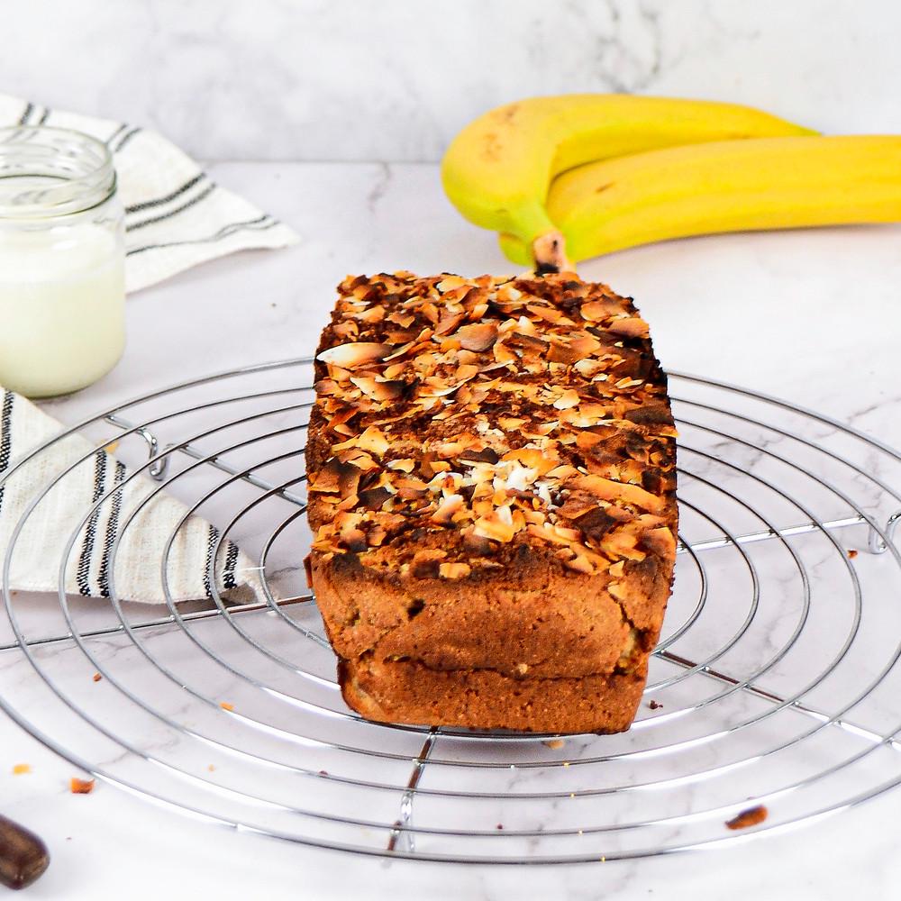 Receot bananenbrood met kokos