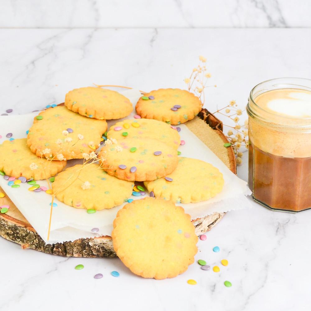 Recept voor confetti koekjes