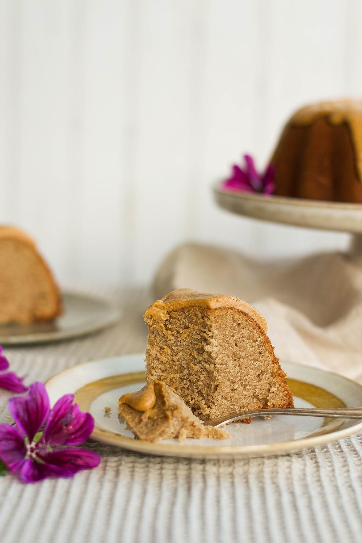 Recept voor een cake met chai