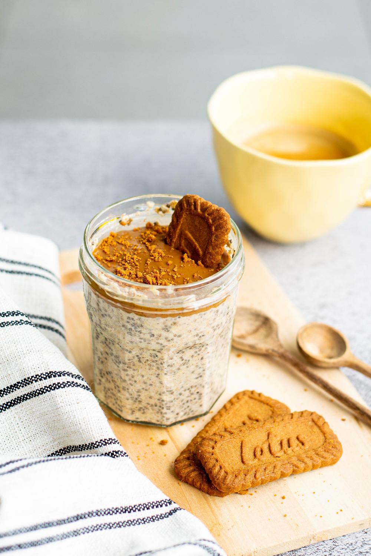 Recept Speculoos overnight oats