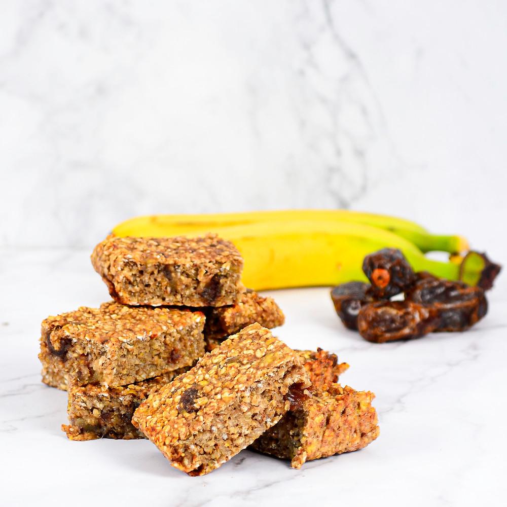 Recept om een gezonde snack met banaan te maken
