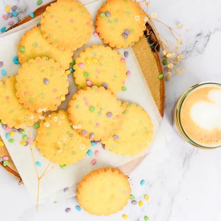 Shortbread confetti koekjes