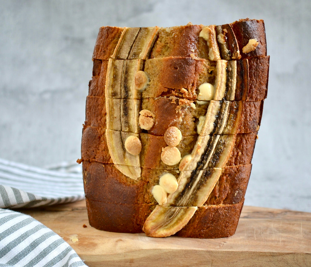 Speculaas noten bananenbrood