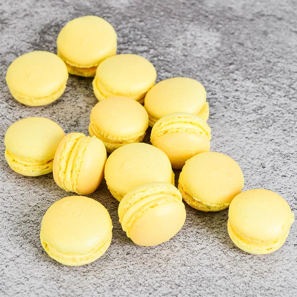 Recept passievrucht macarons