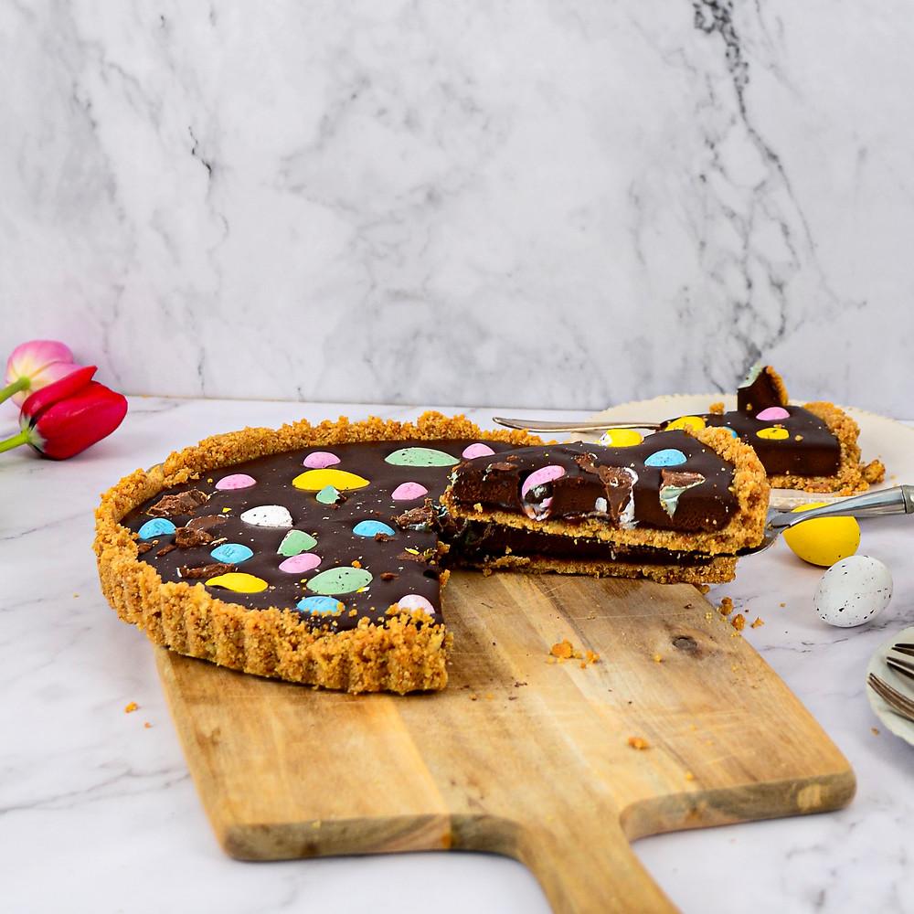 Recept chocolade paastaart